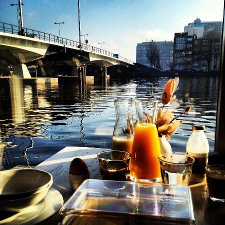 Houseboat Little Amstel: Good morning!