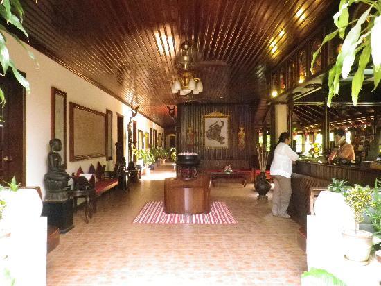 HanumanAlaya Boutique Residence: Reception