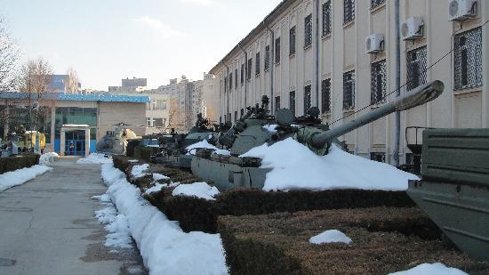 National Military Museum Bucharest: many tanks to look at