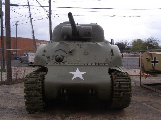 12th Armored Museum: Sherman tank