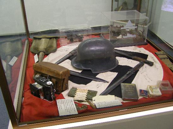 12th Armored Museum: Nazi artifacts