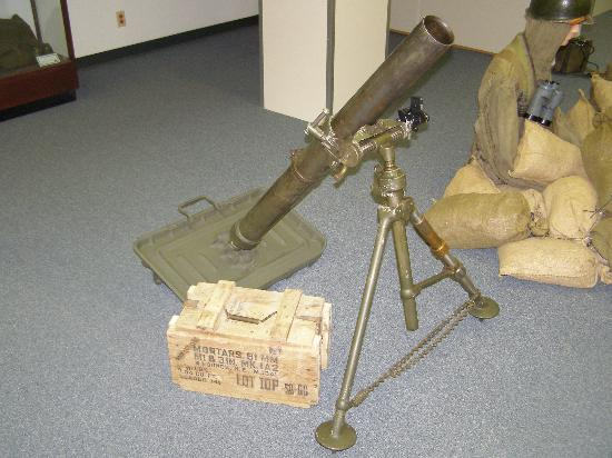 12th Armored Museum: Mortar