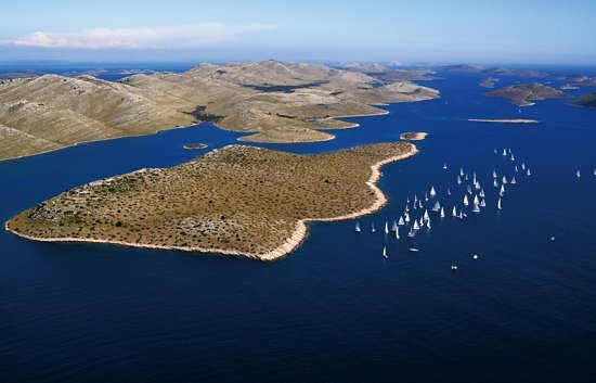 ‪‪Kornati Islands National Park‬, كرواتيا: Islands Kornati regata‬