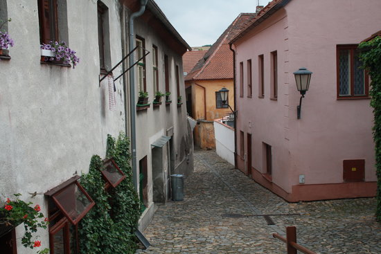 The Jewish Quarter and St Procopius' Basilica in Trebic: On our way up