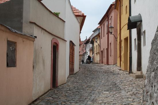 The Jewish Quarter and St Procopius' Basilica in Trebic: Further ahead