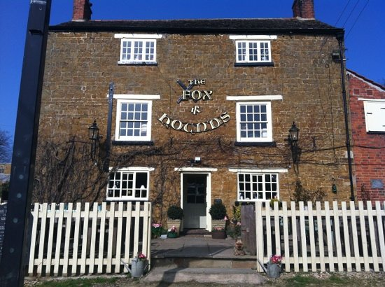 The Fox and Hounds: sunny winter morning