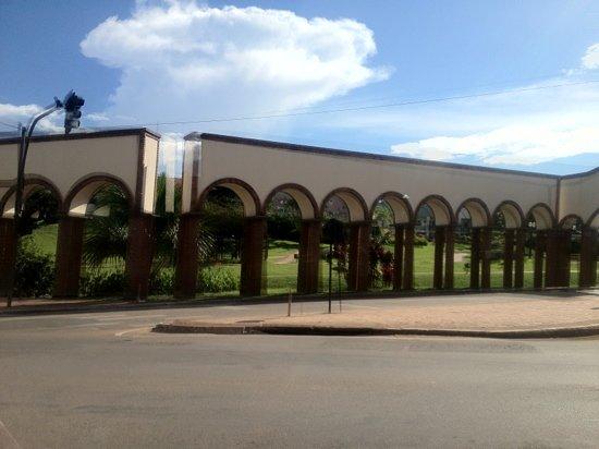 Rio Branco: vista do parque