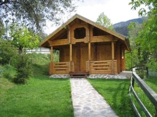 Guejar Sierra, Spain: Cabaña grande con sauna (opcional)