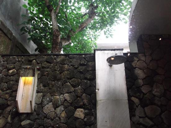 Villa Orchid Bali: Shower