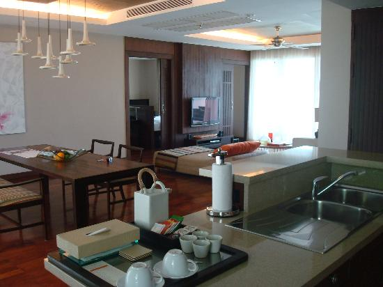 ShaSa Resort & Residences, Koh Samui : Living room