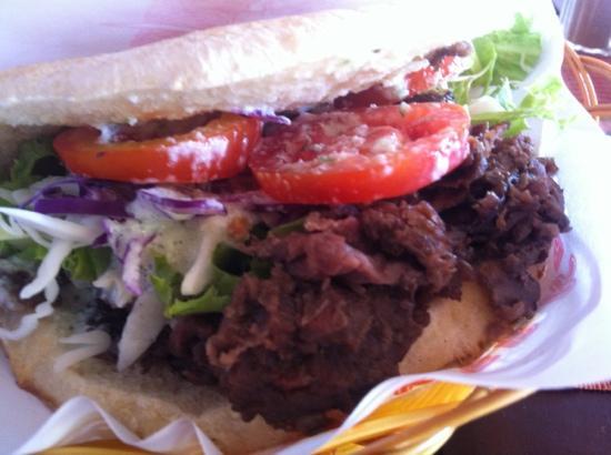 Sindbad : beef kebab