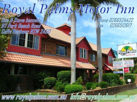 โรยัลปาล์มสอินน์มอเตอร์อินน์: Royal Palms Motor Inn