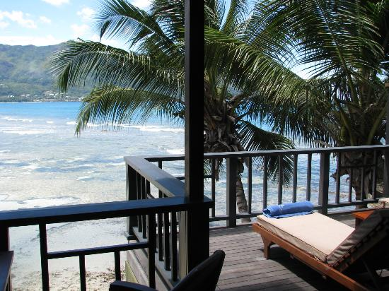 Hilton Seychelles Northolme Resort & Spa: View from the balcony of 104