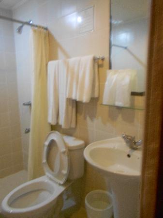 The comfort room (bathroom) - Picture of Rajah Park Hotel, Cebu ...