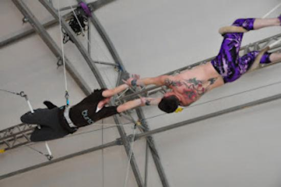 Trapeze School New York: My First Catch