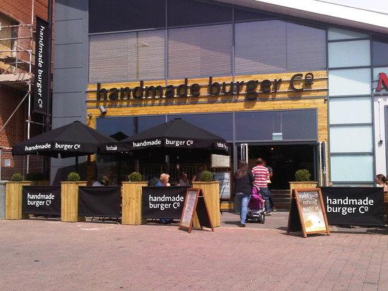 handmade burger Co.: Our Brayford Wharf restaurant