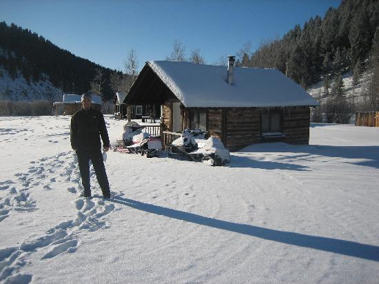 Elk Lake Resort : Our cabin