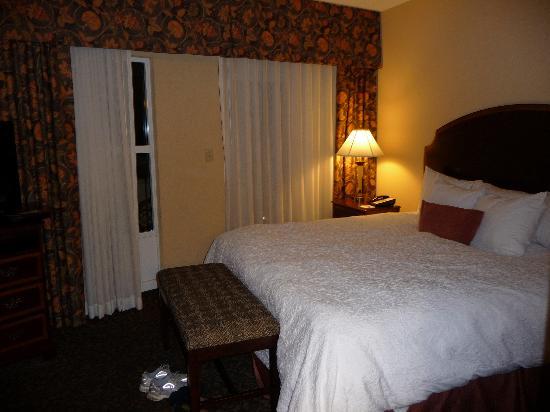 Hampton Inn & Suites Mobile/Downtown : King 1 Bedroom Suite - Bedroom