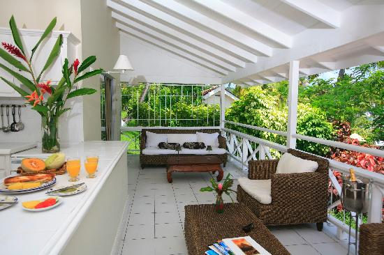 Marigot Beach Club and Dive Resort : 3 Bedroom Villa