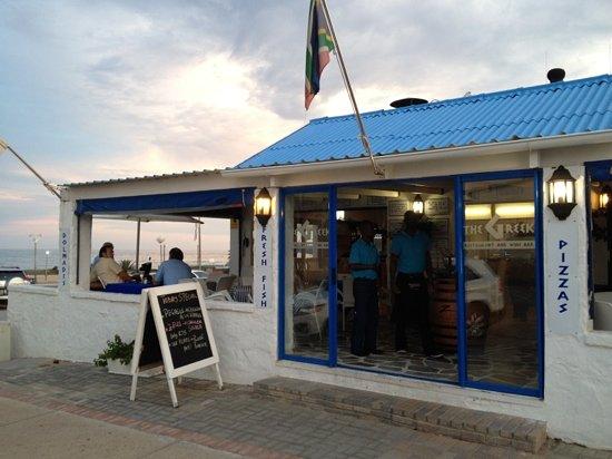 The Greek Restaurant and Wine Bar: Restaurant