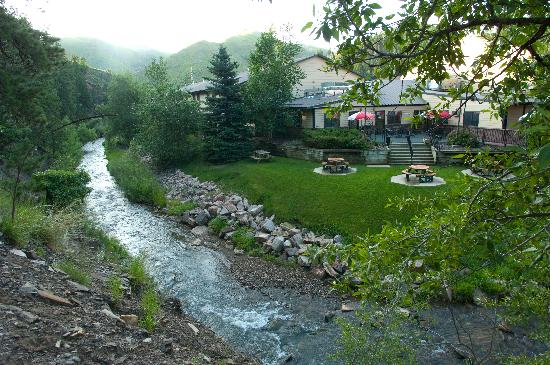 Deadwood Gulch Resort: Whitewood Creek in our Back Yard
