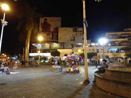 Zocalo : Zokalo bei Nacht