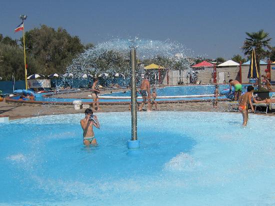 Sottomarina, Italie : Una parte del parco aquatico