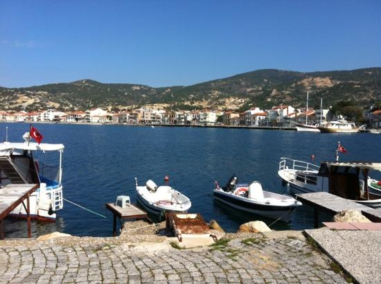 Foca, Turkey: seaside and boats