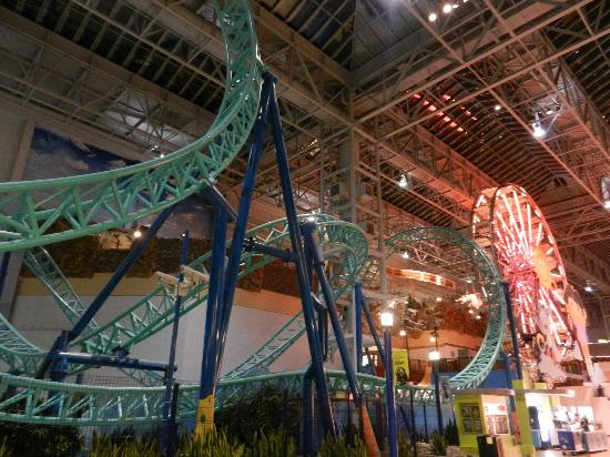 Rollercoaster Picture Of Mall Of America Bloomington