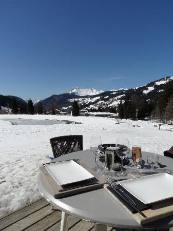 Restaurant du Lac : La vue depuis notre table, en terrasse !