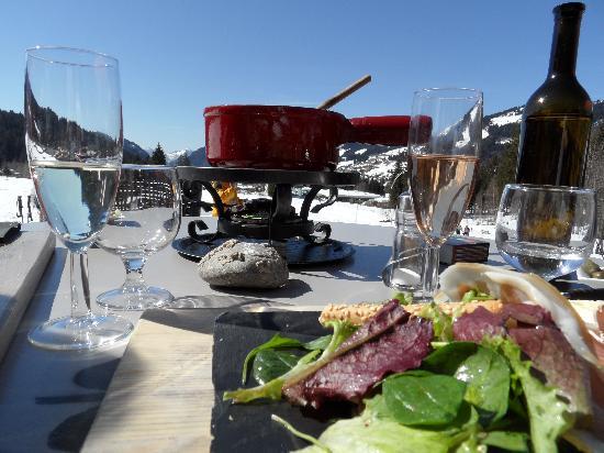 Restaurant du Lac : Une fondue suisse, un an qu'on l'attendait !