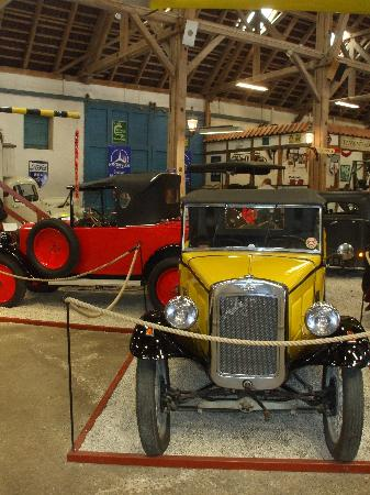 Egeskov Castle: museo d'auto