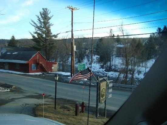 The Wilmington Inn & Tavern: Looking down the hill toward the river