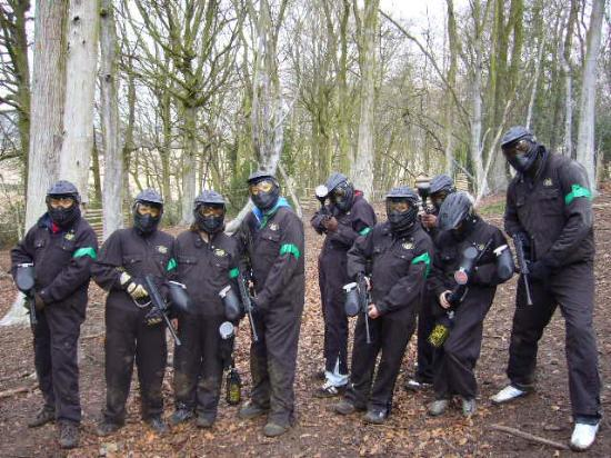 Delta Force Paintball : First game of the day