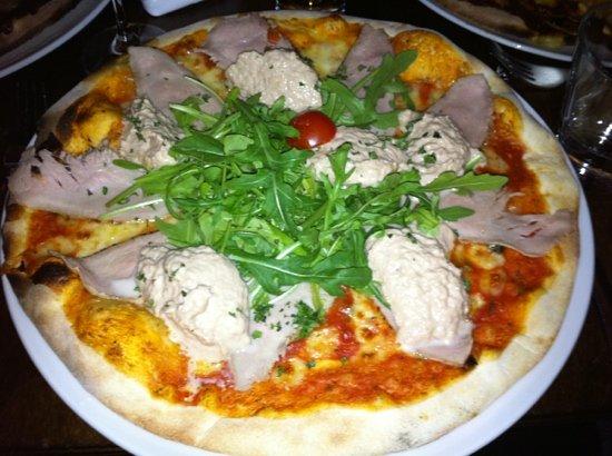 GlückundSeligkeit: Pizza mit Ricotta
