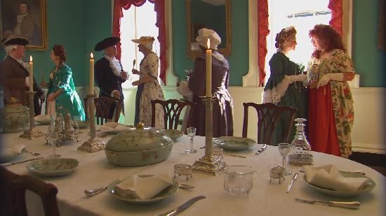 Hammond-Harwood House: HHH Dining Room