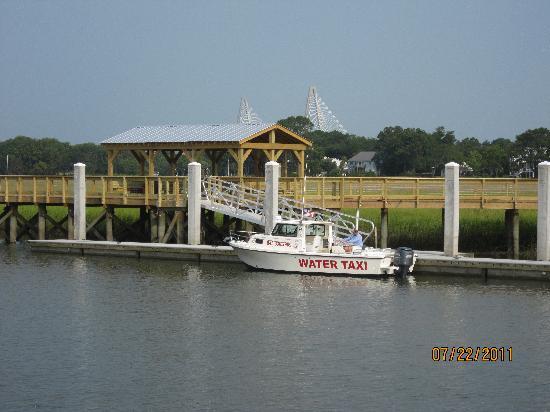 Charleston Water Taxi: Shem Creek Water Taxi