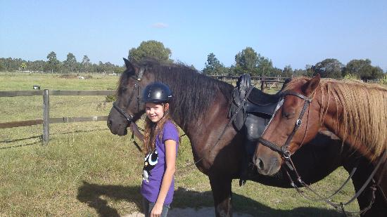 Black Horse Trails: My daughter and horse
