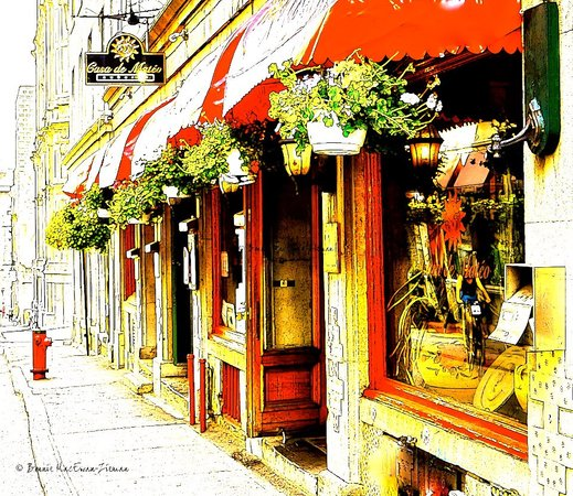 Auberge Casa de Mateo: Located in picturesque Old Montreal, Auberge and Restaurant Casa de Mateo are in the heart of al