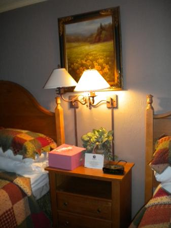 The Village Inns of Blowing Rock: Hillwinds Inn: Night Stand