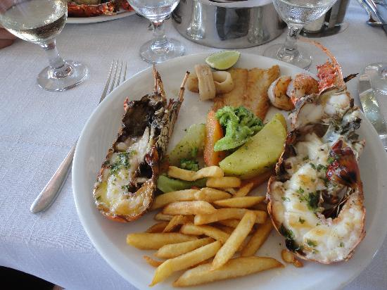 Dreams Palm Beach Punta Cana: Lobster lunch on Cap Cana day