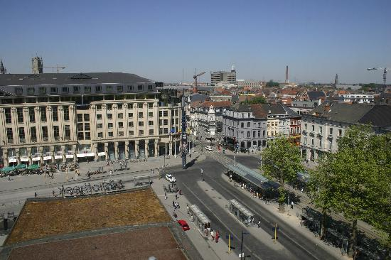 Ghent South, seen from the Ghent Public Library