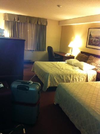 Travelodge Hotel Vancouver Airport: hotel room