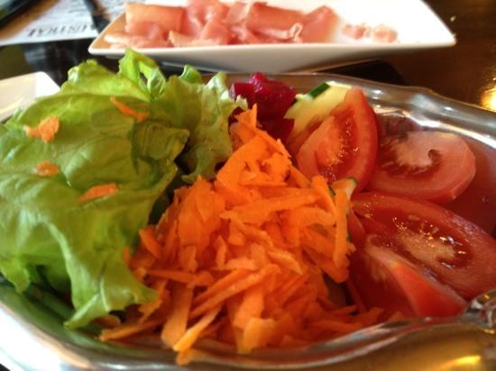 Asador Patagonico: ensalada