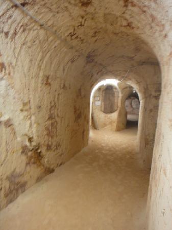 Tom's Working Opal Mine : Tunnels galore