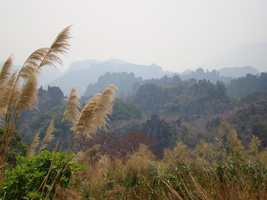 Vietnam AG Travel Private Day Tours: Karst country en route to Nam Hinboun, Laos