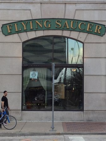 Photo of American Restaurant Flying Saucer at 705 Main St, Houston, TX 77002, United States