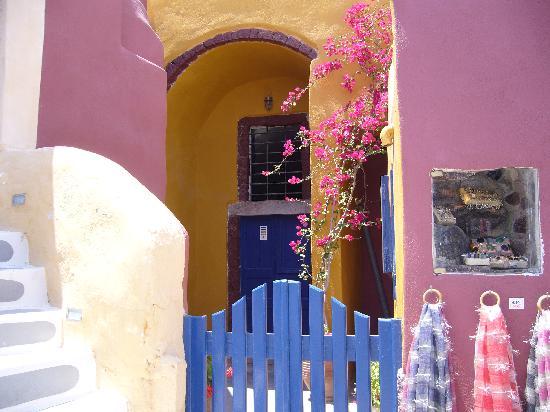 Santorini, Grecja: imerovegli