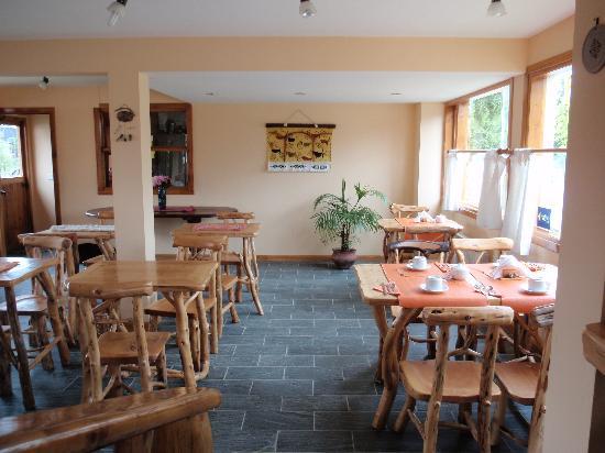 Hosteria Casa de Piedra : El comedor /  Desayuno