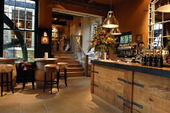 The Brampton Mill: Bar and Mill Wheel